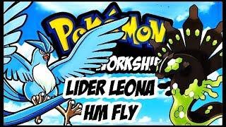 POKEMON DARK WORKSHIP DETONADO EP 4 LIDER LEONA E HM FLY
