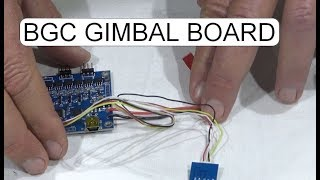 UNBOXING BGC GIMBAL CONTROLL BOARD