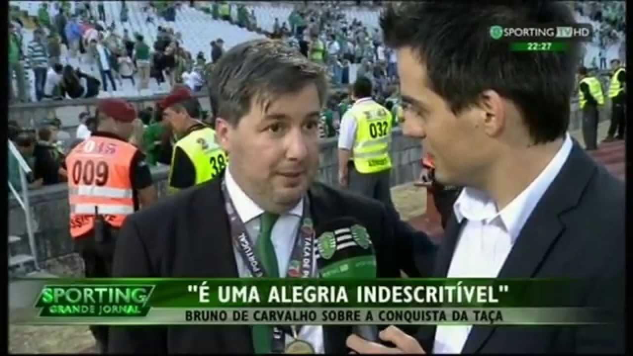 Sporting - 2 x Braga - 2 (3-1 nas grandes penalidades) em 2014/2015 Final da Taça de Portugal