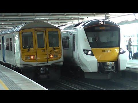 Trains at London Blackfriars (Rush Hour) - 04/04/17
