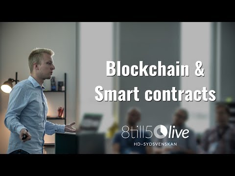Blockchain & Smart Contracts: Digital Evolution Conference 2018