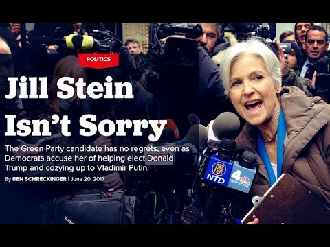 Jill Stein & Her Supporters Still Being Scapegoated for Trump by Media