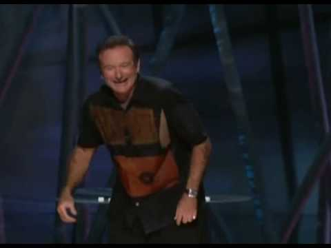 Robin Williams: The origins of Golf