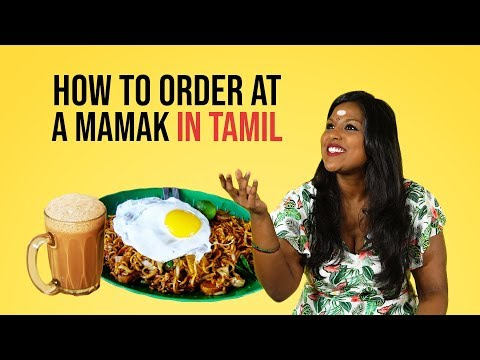 How To Order At A Mamak In Tamil | NANDINI SAYS