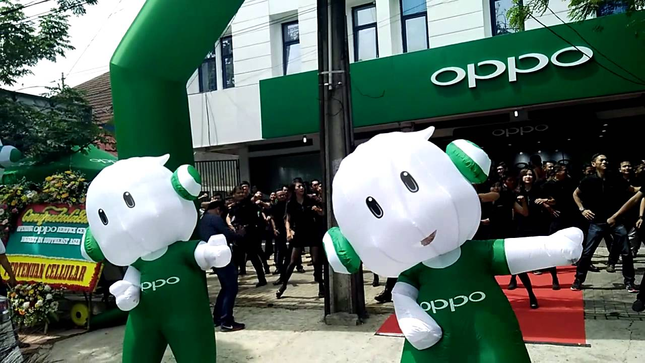 Oppo Service Center Opening in Bandung
