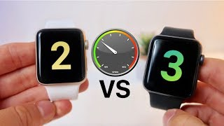 Apple Watch Series 2 vs Series 3 Speed Test!