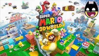 SUPER MARIO 3D WORLD - Mario Bros Cartoon Videos Games for Kids - World Mushroom