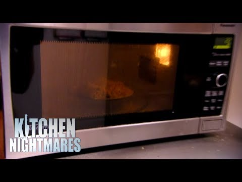 Owner Makes Roasted Potatoes In A Microwave | Kitchen Nightmares