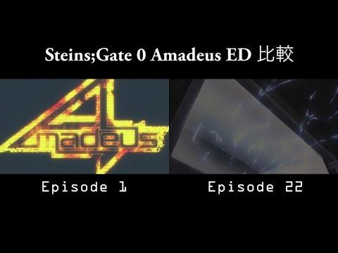 Steins;Gate 0 - 2 Versions ED 比較 「Amadeus」(歌詞付)