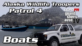 AST Clan GTA IV - AWT Patrol 4 - Boat Patrol & Water Rescue with Diver