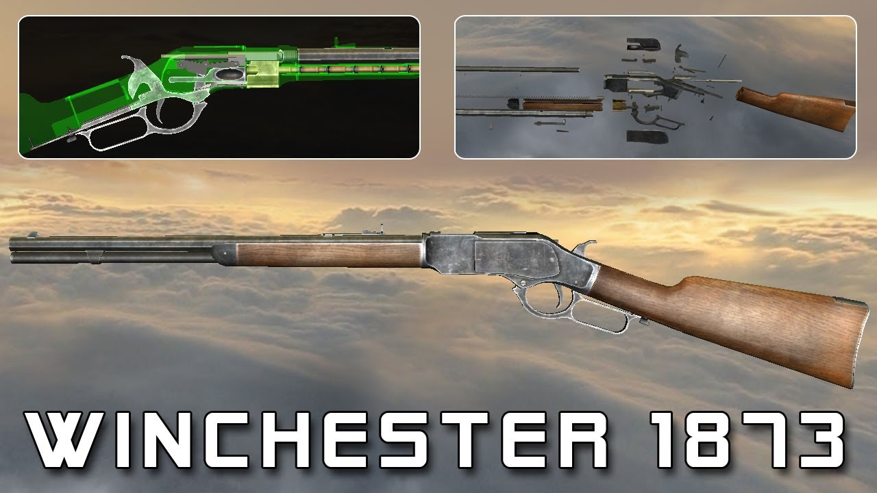 Winchester 1873 (full disassembly and operation)  YouTube