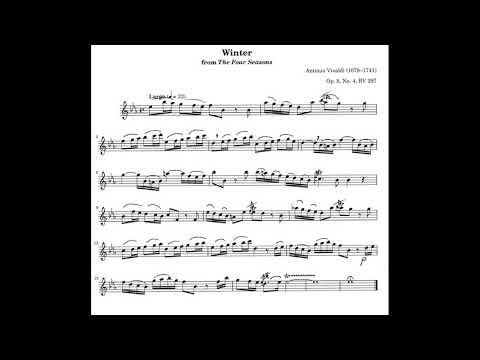 A.Vivaldi  LARGO from Four Seasons/ Winter