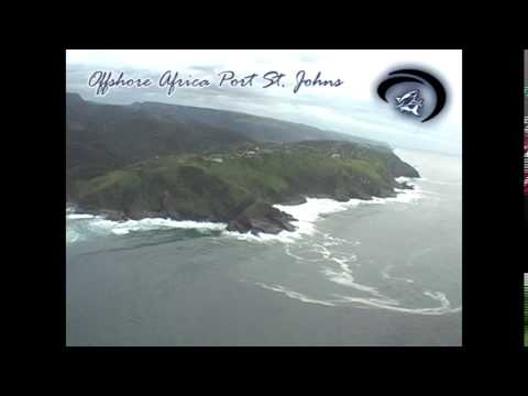 Aerial Port St Johns by Offshore Africa PSJ
