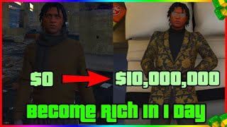 How to Become Rich in GTA 5 Online in 1 Day