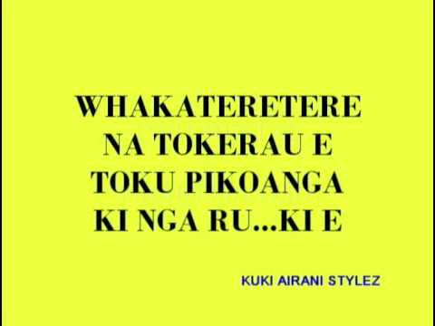 COOK ISLANDS KARAOKE - WHAKATERETERE