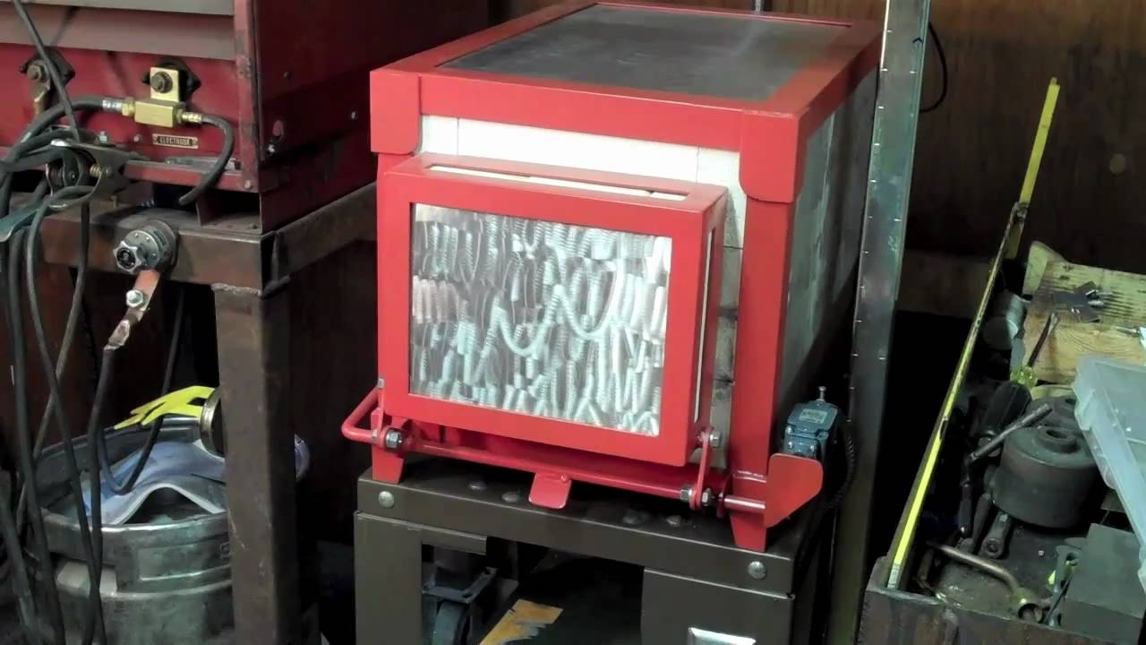 Heat Treating Oven Youtube