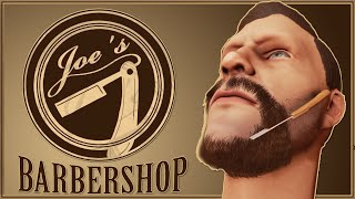 Barbershop Simulator Gameplay - I WANNA BE A BARBER - The Barber Shop Game (Student Project)