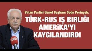 Doğu Perinçek: Libya ve Suriye'deki Türk-Rus iş birliği Amerika'yı kaygılandırdı