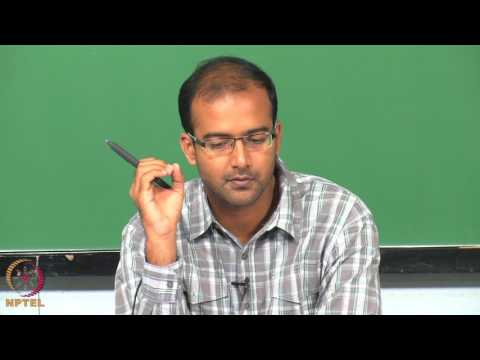 Micro and Nano scale  energy transport - Week02lec01