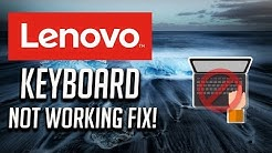 Fix Lenovo Keyboard Not Working Windows 10/8/7 - [3 Solutions 2020]