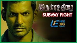 Irumbu Thirai - Richie Street Fight   Vishal   Arjun Sarja   Samantha Akkineni   Tamil Latest Scenes