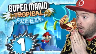 SUPER MARIO TROPICAL FREEZE ❄️ #1: Mario & Donkey Kong Tropical Freeze Fusion