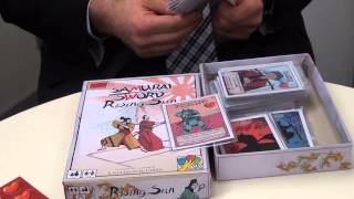 Preview of Samurai Sword: Rising Sun (Emiliano Sciarra, dV Giochi) at Spielwarenmesse 2014