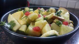 Navratri special_Healthy and delicious fruit chat _ twist | इस तरह बनाएं चाट आपने कभी नहीं आया होगा