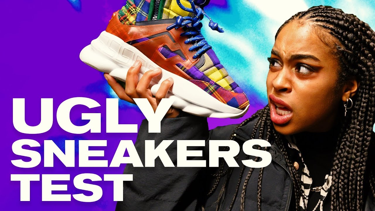 b5f75381ef6f We Wore  1300 Versace Sneakers For A Week ~ NAYVA Ep  13 ~ BEAUTY ...