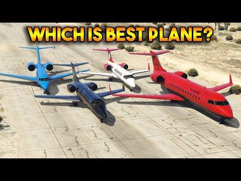 GTA 5 ONLINE : LUXOR VS NIMBUS VS SHAMAL VS MILJET (WHICH IS BEST PLANE?)