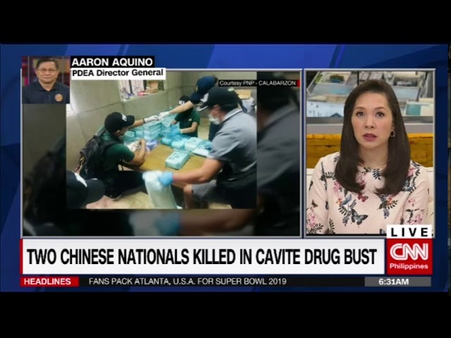 Two Chinese nationals killed in Cavite drug bust