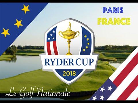 Ryder Cup REMATCH! Le Golf Nationale - Paris France (Front 9)