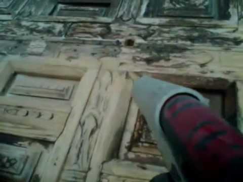 Restauracion puerta youtube for Restauracion de puertas antiguas