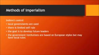 Nationalism/Imperialism