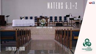 Reflexão: Mateus 5.1-2 - IPT