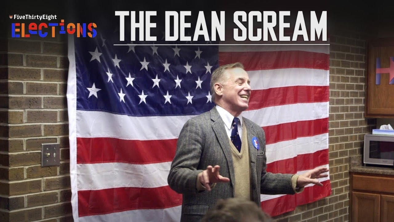 Download The story of Howard Dean's infamous scream in 2004 l FiveThirtyEight