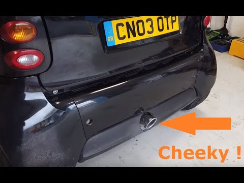 Custom Exhaust £10 DIY Brabus Inspired Sport Exhaust For Smart Car W450 Fortwo