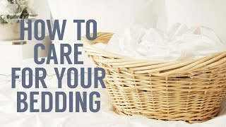 Learning the right way to clean, wash and dry your bedding is essential to maintaining its look, feel and longevity. Here is the step-by-step process on how to ...