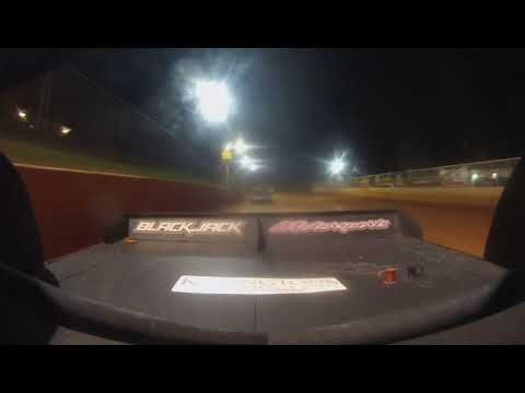 East Lincoln Speedway 5-18-19 pro 4 Rear Cam Main Event 2of2 Alexus Motes