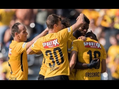 BSC Young Boys vs. FC Zürich/ 4:0  - Full Match - 05.08.2018