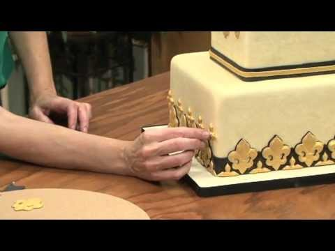 Fleur de lis Cake Video - Dominic Palazzolo & Sharon Zambito