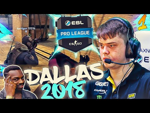 Лучшие моменты CS:GO ESL PRO LEAGUE DALLAS - №1