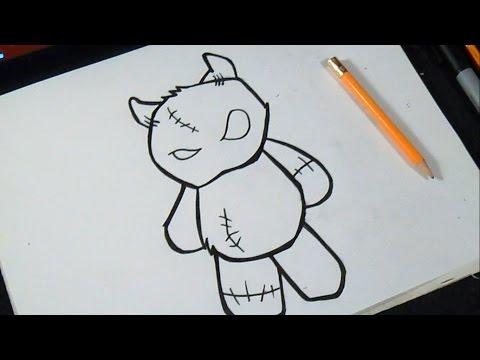 como desenhar  Ursinho de pelúcia | Grafite