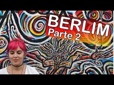 Berlim: East Side Gallery, Parlamento Alemão, Rosas e Esquilos! | Europa 2015 #5