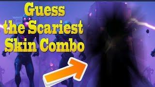 Guess the Scariest Halloween Skin Combo in Fortnite! | Fortnite Halloween Update Skins