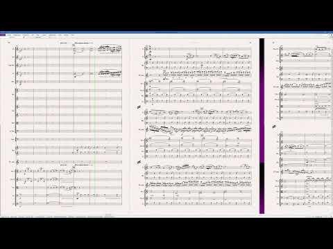 Khachaturian Flute Concerto (4K score, Sibelius Sounds)