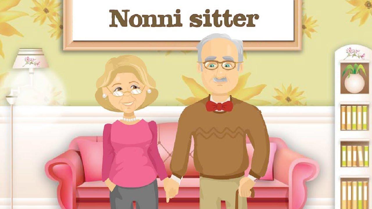 Amato La festa dei Nonni - Nonni sitter - canzoni per bambini - YouTube GM91