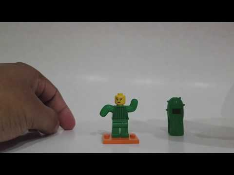 LEGO Minifigures Series 18 - Cactus Girl - Blind Bag Opening