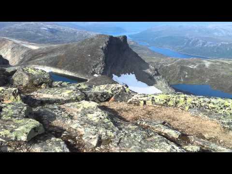 Panorama of Snota, Trollheimen, Norway
