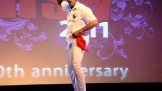 AfroCuban Dance Performance - Maykel Fonts at Hot Salsa Weekend 2011